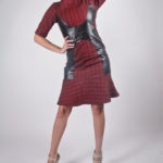 Look2A - NA14WD003 TRIBAL PRINT PU FIT AND FLARE DRESS $149.99